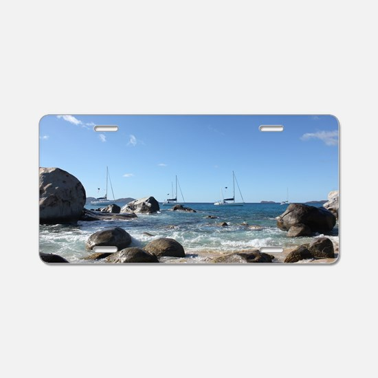 BVI Sailing Boats Aluminum License Plate