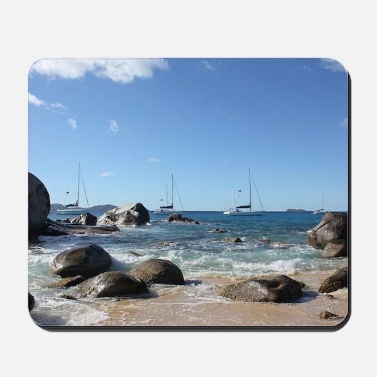 BVI Sailing Boats Mousepad