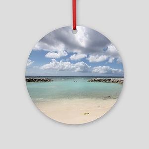 De Palm Island Round Ornament