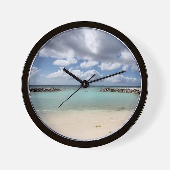 De Palm Island Wall Clock