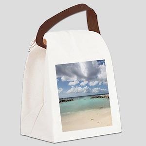 De Palm Island Canvas Lunch Bag