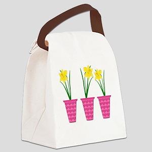 Daffodil Canvas Lunch Bag