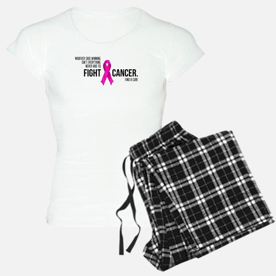 Fight Breast Cancer Pajamas