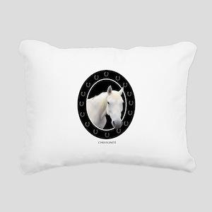Horse Theme Design #4100 Rectangular Canvas Pillow