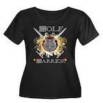 Wolf Warrior Shield 1 Plus Size T-Shirt