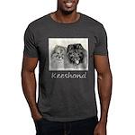 Keeshonds Dark T-Shirt