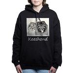 Keeshonds Women's Hooded Sweatshirt