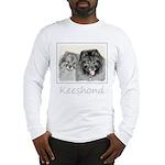 Keeshonds Long Sleeve T-Shirt