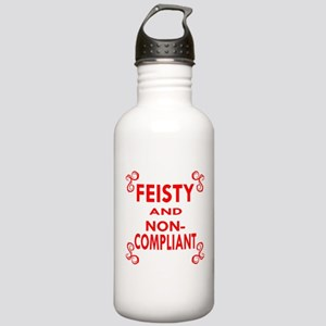 Feisty And Non-Complia Stainless Water Bottle 1.0L