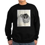 Keeshonds Sweatshirt (dark)