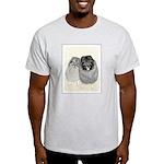 Keeshonds Light T-Shirt