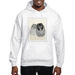 Keeshonds Hooded Sweatshirt
