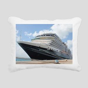 MS Nieuw Amsterdam Rectangular Canvas Pillow