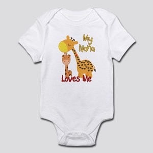 My Nana Loves Me Giraffe Infant Bodysuit
