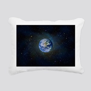 Earth Rectangular Canvas Pillow