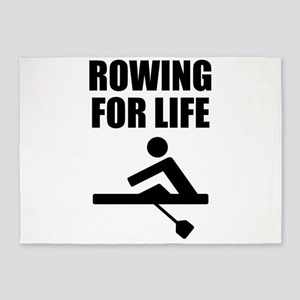 Rowing For Life 5'x7'Area Rug