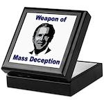 Weapon of Mass Deception Keepsake Box