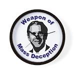 Weapon of Mass Deception Wall Clock