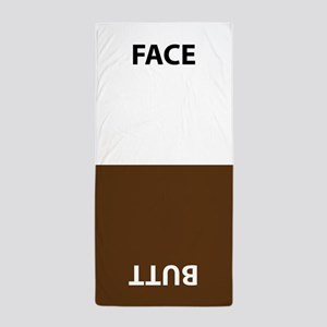 Face/butt Towel Beach Towel