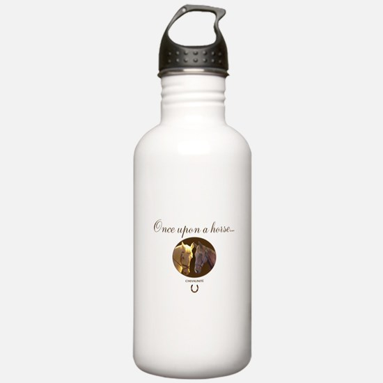 Horse Theme Design #55 Sports Water Bottle