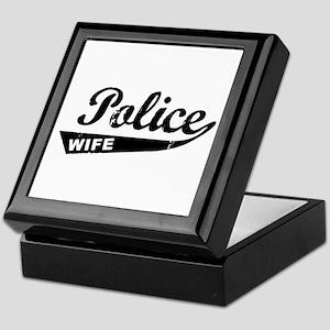 Vintage Police Wife Keepsake Box