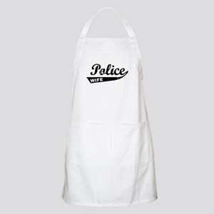 Vintage Police Wife BBQ Apron