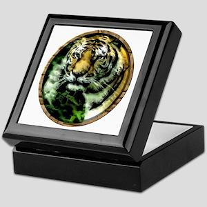 Jungle Tiger Keepsake Box