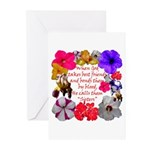 God Made Sisters Greeting Cards (Pk of 20)