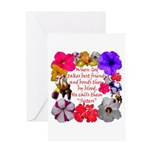 God Made Sisters Greeting Card