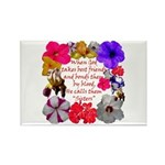 God Made Sisters Rectangle Magnet