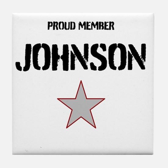 Proud Member Tile Coaster