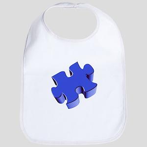 Puzzle Piece 2.1 Blue Bib