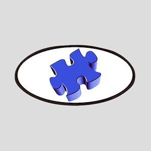 Puzzle Piece 2.1 Blue Patches