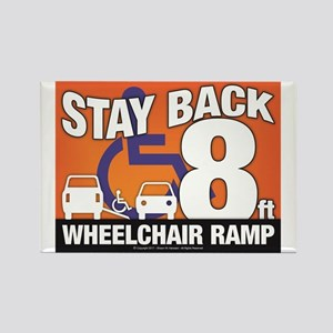 Stay Back Wheelchair Ramp (8ft) Magnets