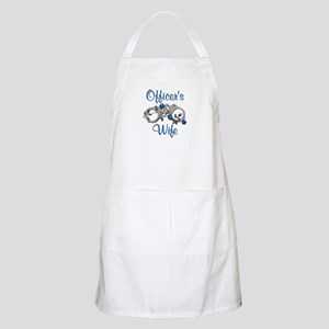 Officer's Wife BBQ Apron
