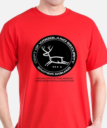 Dept Of Woodland Security Deer T-Shirt