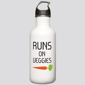runs on veggies Stainless Water Bottle 1.0L