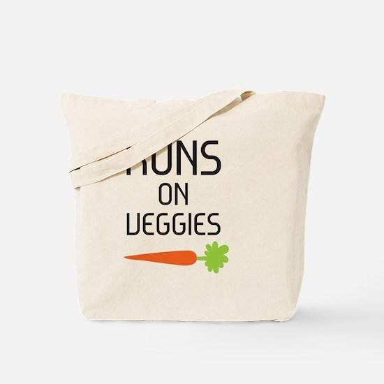 runs on veggies Tote Bag