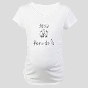 Team Vasquez Maternity T-Shirt
