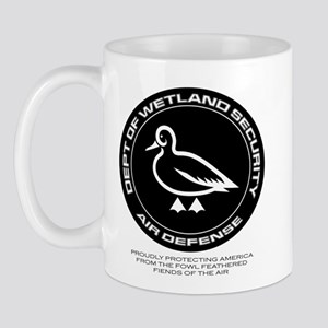 Department Of Wetland Security Mug Mugs