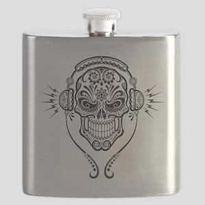 DJ Sugar Skull Flask