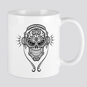 DJ Sugar Skull Mugs