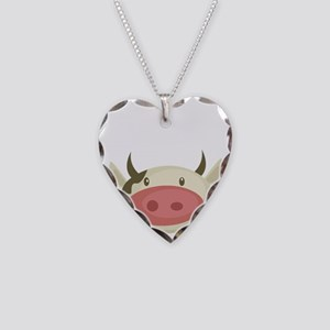 friends not food Necklace Heart Charm