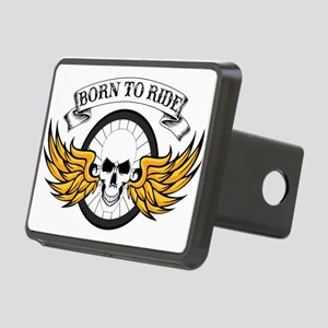 Born To Ride (Road Bike) Rectangular Hitch Cover