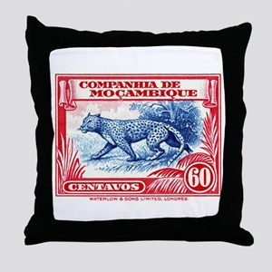 1937 Mozambique Company Leopard Postage Stamp Thro