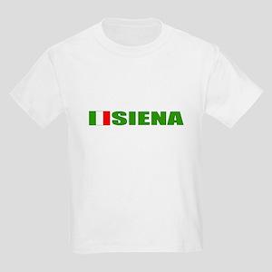 Siena, Italy Kids Light T-Shirt