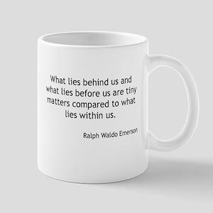 Ralph Waldo Emerson - What Lies Within Mugs