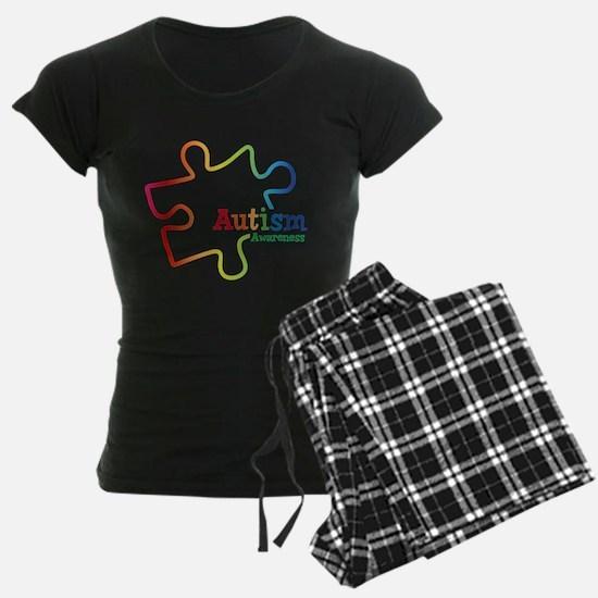 Rainbow Gradient Autism Pajamas