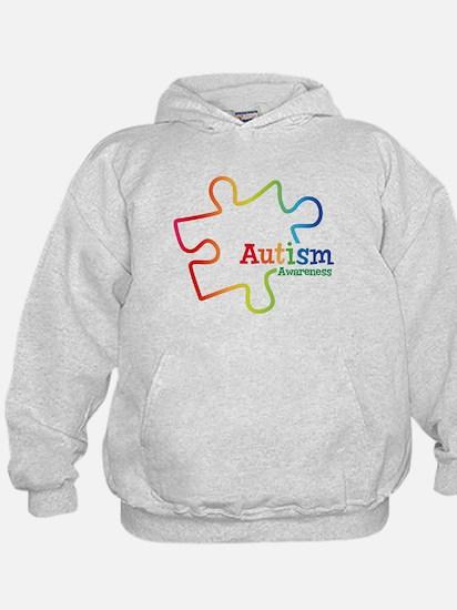 Rainbow Gradient Autism Hoodie