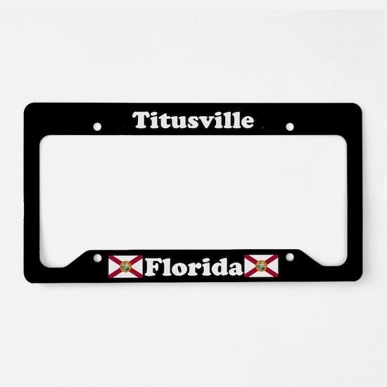 Titusville, FL License Plate Holder